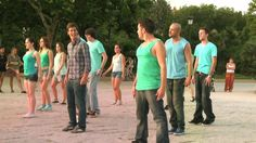 Flashmob Pedida de Mano - Templo de Debod, Madrid