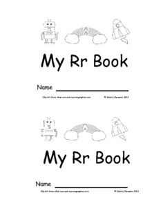 Emergent Reader: My Rr Book: Sight Words (I, like, the) from Dr. Clements' Kindergarten on TeachersNotebook.com -  (12 pages)  - Emergent Reader: My Rr Book: Sight Words (I, like, the)
