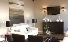 Fairbanks Loft - contemporary - living room - calgary - Atmosphere Interior Design Inc.