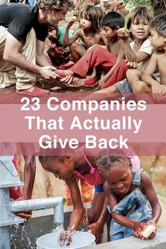 23 Charitable Companies That Actually Give Back