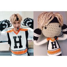 """38 lượt thích, 1 bình luận - Claire (@virtualrecluse) trên Instagram: """"Latest doll commission: Hobi in his """"As I Told You"""" performance look // I never thought I'd be…"""""""