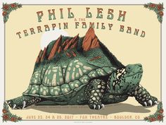New Concert Posters by Neal Williams