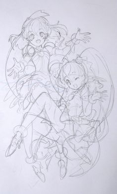 Pose Reference, Drawing Reference, Pretty Cure, Magical Girl, Twinkle Twinkle, Sketches, Poses, Manga, Stars