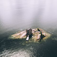 Island Cottage by KMcLachlan