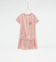 ZARA - KIDS - Knotted striped dress