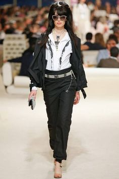 Chanel | Cruise/Resort 2015 Collection via Karl Lagerfeld | Modeled by Sabrina Ioffreda | May 13, 2014; Dubai | Style.com