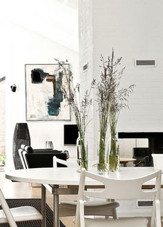 Sala de jantar - Diferencial: Centros de Mesa despretensiosos e de muito bom gosto