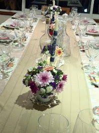 shavuot's table setting