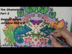 The Chameleons part 2 | Magical Jungle | Johanna Basford - YouTube