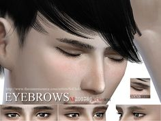 Eyebrows for men, hope you like, thank you.  Found in TSR Category 'Sims 4 Facial Hair'
