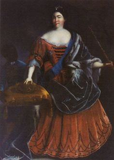 Catherine I of Russia, second wife of Peter the Great
