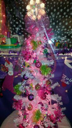 Barney tree for my baby girl