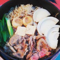 京都のすき焼きめちゃうまかったな😃 関西風らしい、 焼き肉みたいな感じ? #京都#旅行#GW#すき焼き#肉#ご馳走#kyoto#tokyo#travel#