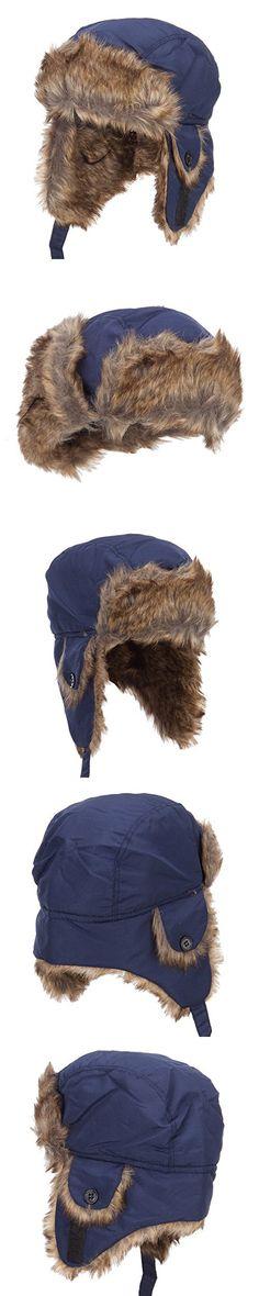 Youth Trapper Hat - Blue OSFM