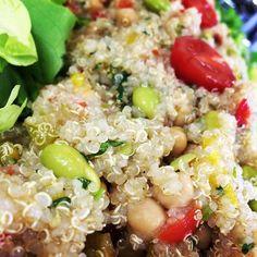 Quinoa-Salat #live #schöneswochenende