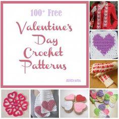 100+ Free Valentine's Day Crochet Patterns