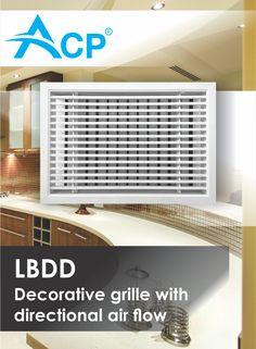 LBDD Decorative Ventilation Grille with Directional Airflow Romania, Flow, Home Appliances, Decor, House Appliances, Decoration, Appliances, Decorating, Deco