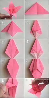 origami dla dzieci kwiat - Szukaj w Google