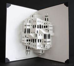 M.C. Escher pop-up book by Ingrid Siliakus