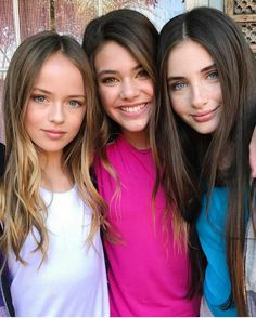Kristina, Laneya y Lilly, lindas modelos infantiles Beautiful Little Girls, Most Beautiful Faces, Beautiful Love, Pretty And Cute, Beautiful Children, Pretty Girls, Cute Girls, Teen Models, Young Models