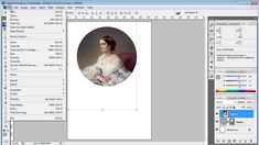 Как вырезать круг из картинки в фотошопе