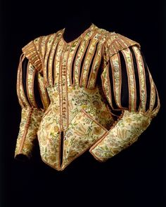 Pinked (slashed) French doublet from the 1620s
