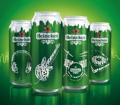 Heineken Limited Edition, you should find the headphones just to be cool. :-)