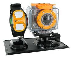 HP AC-200W HD 1080p Sports Action Camera. Available on line from www.Lotustravelessentials.co.uk
