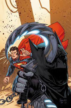 BATMAN_SUPERMAN_49Esta historia épica de otra época en la historia de Clark y Bruce continúa!  Alguien ha puesto una recompensa por la cabeza de Batman, y Lobo de venir a recoger.  Superman puede detener este cazarrecompensas intergaláctico en el tiempo?