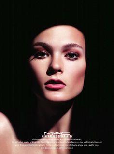Irina Kulikova for Mineralize MAC Cosmetics Campaign #irinakulikova   #mac   #beauty   http://www.bliqx.net/irina-kulikova-for-mineralize-mac-cosmetics-campaign/