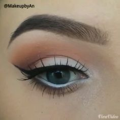 Beautiful Eye Makeup Tutorial by @makeupbyan