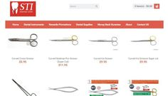 Buy Dental Scissors, Surgical Scissors, Dean Scissors, Goldman fox scissors, iris scissors, kelly scissors, crown scissors