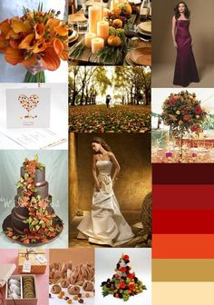 Fall wedding.