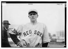 Smoky Joe Woods, Boston AL 1912, Library of Congress collection