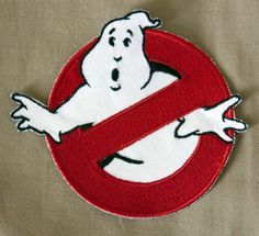 Everyone wants to be a #Ghostbuster. Begin creating your perfect GB #cosplay with the best looking, most accurate Ghostbuster arm patch online from 8-Bit Spock! https://www.etsy.com/listing/129487123/ghostbusters-logo-no-ghost-patch-any?ref=shop_home_active_6