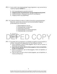 Ekonomiks 10 teachers guide Lesson Plan Sample, Teacher, How To Plan, Sample Of Lesson Plan, Professor