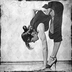 yoga & heels