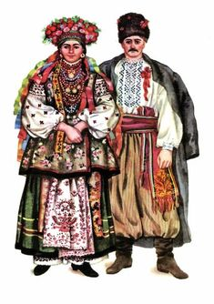 Ukrainian traditional wedding dresses
