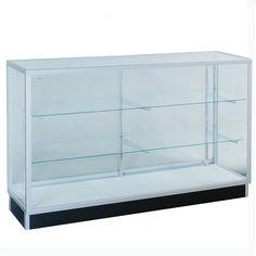 48W x 20D x 38H GLASS K/D Extra Vision Showcase