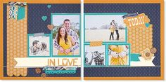 A step-by-step workshop to complete this scrapbook layout, including materials and instructional guide.   Workshops on the Go® Sarita scrapbooking kit (G1066) from Close To My Heart.