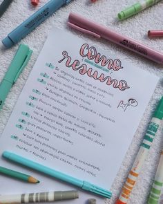 49 Ideas for medical school planner ideas Lettering Tutorial, Lettering Brush, School Planner, Student Planner, Study Organization, Bullet Journal School, School Study Tips, Pretty Notes, Little Bit