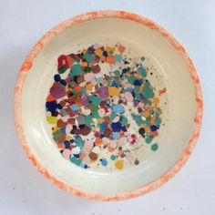 Craft Girl Studios Ceramic Colander and Bowls