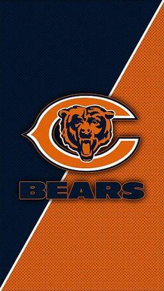 Chicago Bears Wallpaper, Bear Wallpaper, Football Wallpaper, Screen Wallpaper, Iphone Wallpaper, Hd Images, American Football, Background Images, Nfl