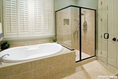 Master Bathroom Remodel with Soaking Tub and Shower