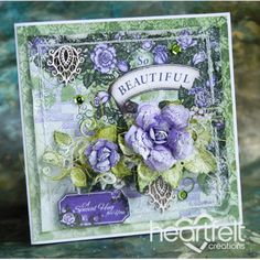 Gallery | Beautiful Lavender Classic Rose Cluster - Heartfelt Creations
