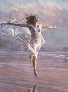 Recognized as one of the best watercolor artists working today, the detail, color and realism of Steve Hanks' paintings are unheard of in this difficult medium. Description from hative.com. I searched for this on bing.com/images