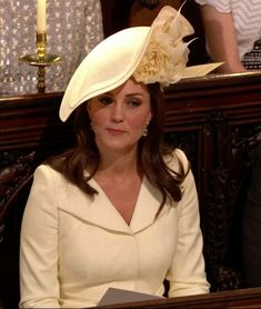 Kate Middleton Arrives at the Royal Wedding Less Than a Month After Giving Birth to Prince Louis