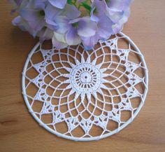 Yellow Forgotten Doily By Antsy Crochet Stars, Crochet Mandala, Crochet Motif, Dream Catcher Wedding, Dream Catcher Boho, Lace Doilies, Crochet Doilies, Doily Patterns, Crochet Patterns