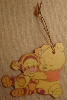 Décoration de Noël Tigrou et Winnie