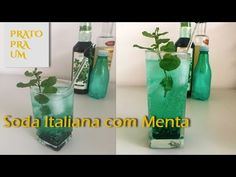 Prato Pra Um - Soda Italiana com Menta